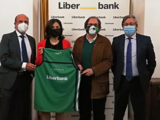 T20/21 - LEB Oro - Liberbank apoya el deporte Extremeño y renueva su compromiso con el Cáceres
