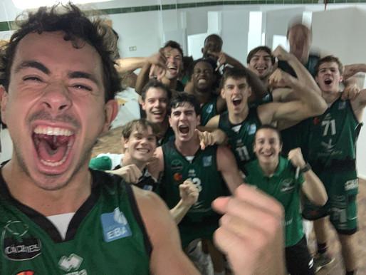 T21/22 - Liga EBA - J4 - Un triple sobre la bocina da la victoria al Torta del Casar en San Fernando