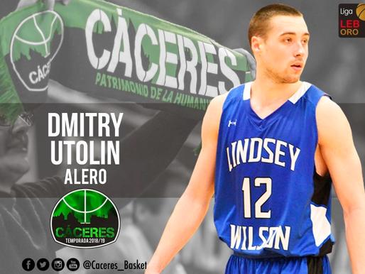 T18/19 - Dmitry Utolin, nuevo fichaje del Cáceres Patrimonio de la Humanidad