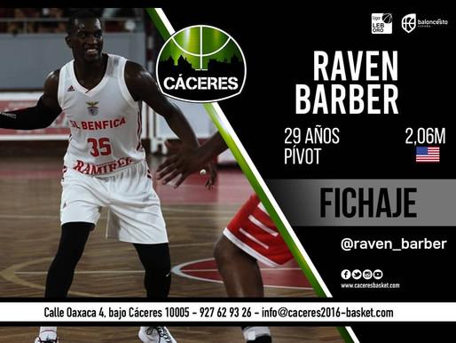 T20/21 - LEB Oro - El Cáceres Patrimonio de la Humanidad incorpora la potencia de Raven Barber