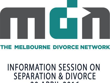 Separation & Divorce Information Session