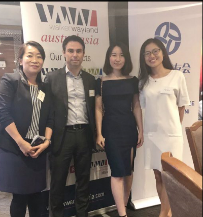 Our team at Chinese Big Four Alumni