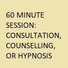 60 MINUTE Session/Consultation