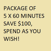 PACKAGE A (5 HOURS)