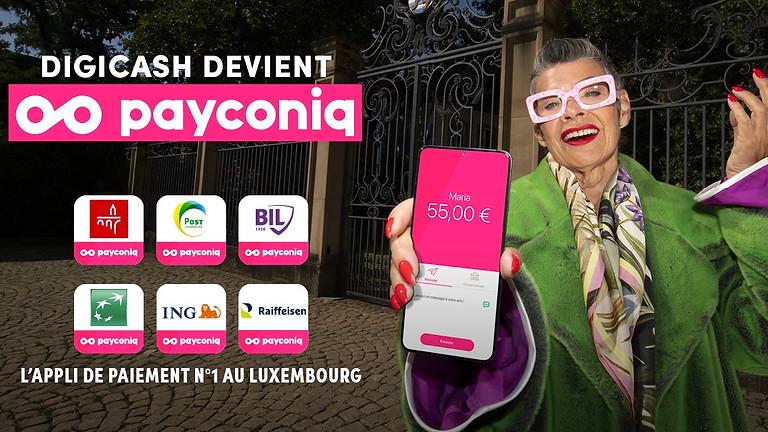 A la découverte du Rebranding : Digicash by Payconiq