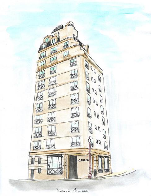 Croquis Hotel Carles