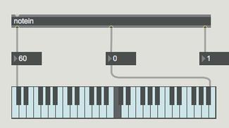 MAX 7 MIDI基礎3