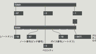 MAX 7 MIDI基礎6