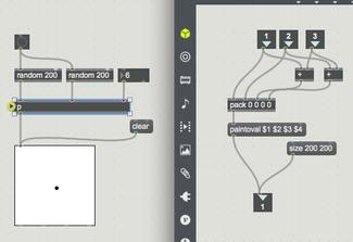 MAX 7 lcdとピクセルドットの作成2