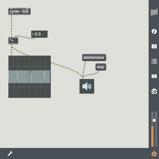 MAX 7 サウンドプログラミング基礎9