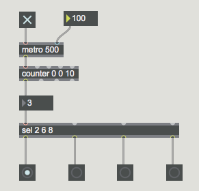 MAX 7 サウンドプログラミング基礎13