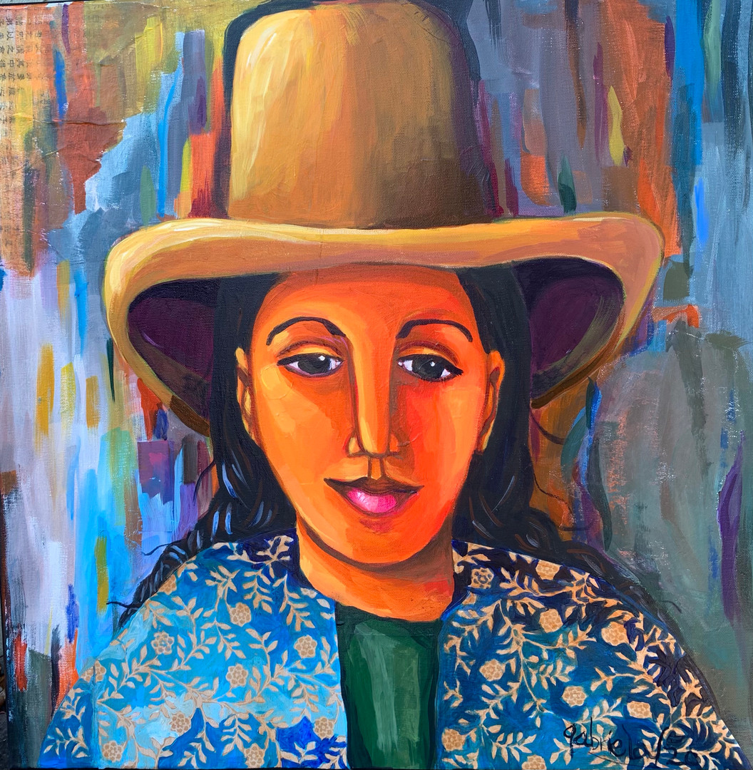 Woman Wearing a Hat