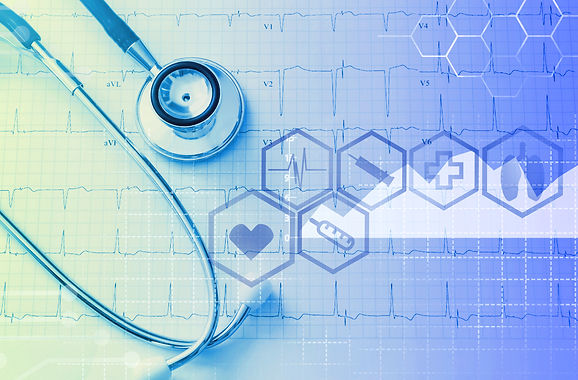 Medical and healthcare service concept .