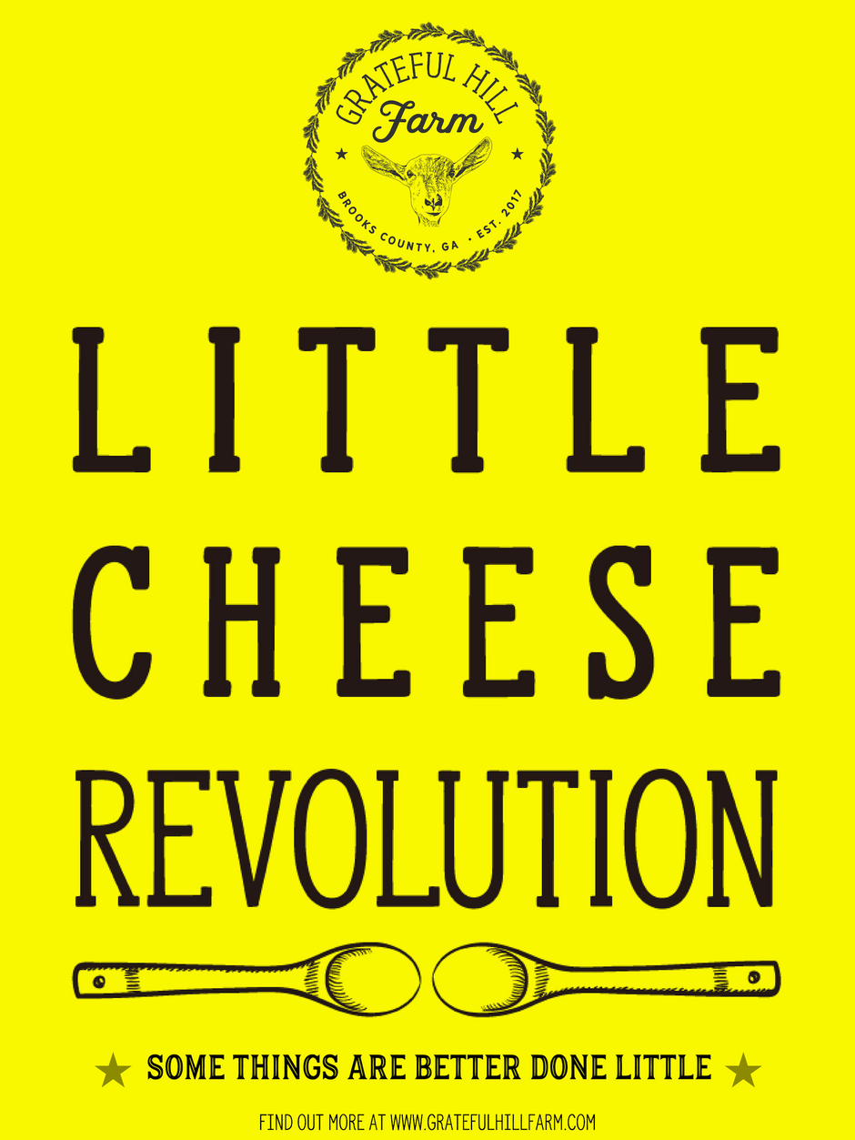 Grateful Hill Farm announces our Little Cheese Revolution (and Nick's first blog post)!