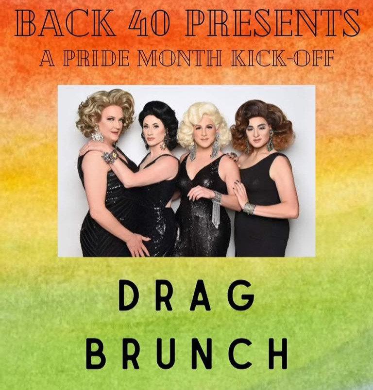 Sunday July 11th Drag Brunch at Back 40