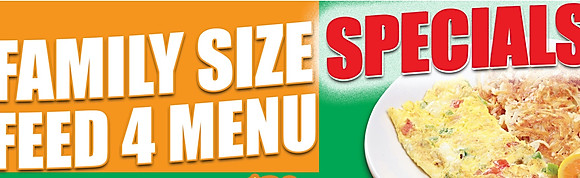 FAMILY SIZE SPECIALS (FEED 4)
