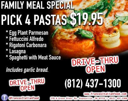 Order Online - Franco's Italian Food