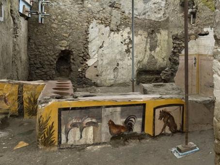 Em Pompeia, na véspera da erupção do Vesúvio