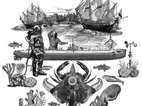 Viagem de longo curso com o capitão Júlio Verne