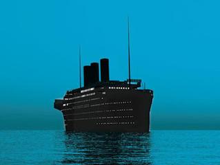 O mar e os navios