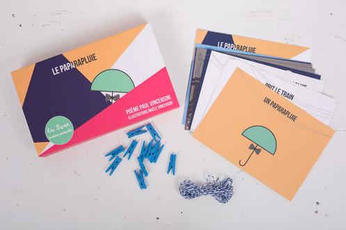 Livre cartes postales pour enfants