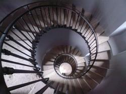 Escalier d'un phare