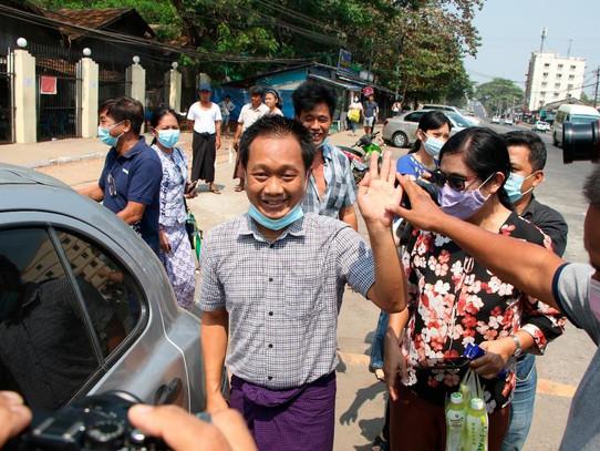 Journalist Thein Zaw Released From Myanmar Prison