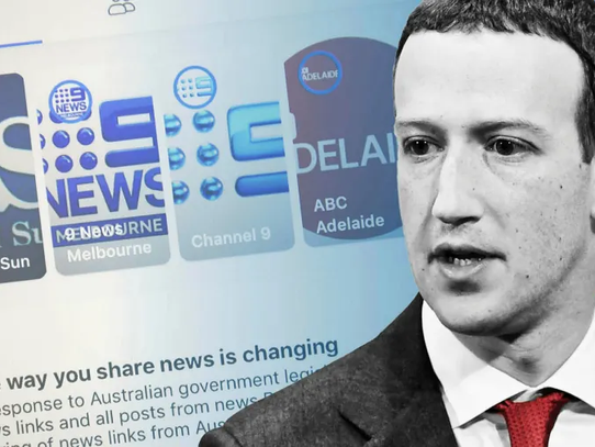 Facebook To Pay News Corp. Australia For News Content