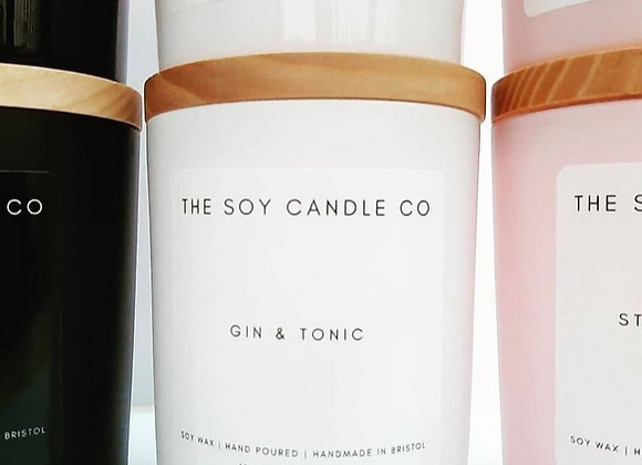 Set of 3 Luxury Soy Candles
