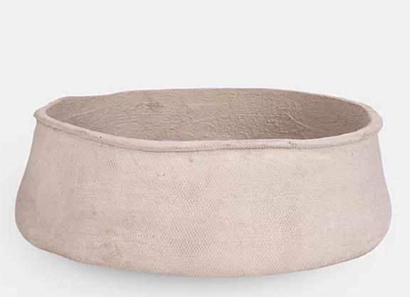 Luna Large stone bowl
