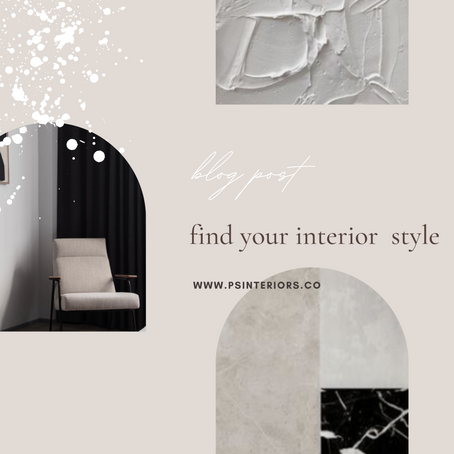 Find your Interior Style