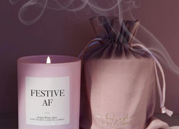 Festive AF Candle