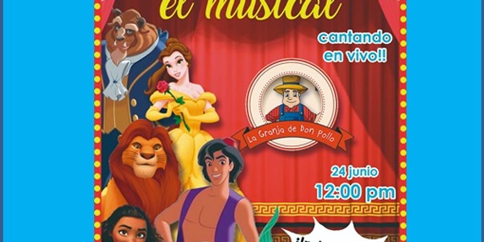 Musical Se Vale Soñar  12:00 HRS      24 de junio 2018