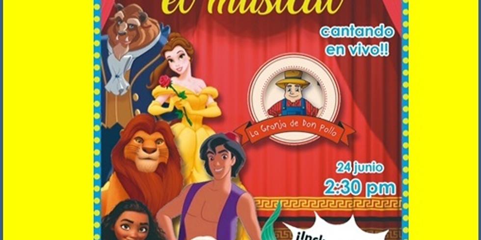 Musical Se Vale Soñar    14:30 HRS   24 de junio 2018