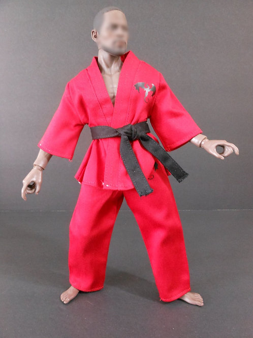 RED DRAGON MARTIAL ARTS DOGI OUTFIT