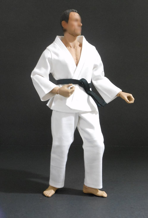 MARTIAL ARTS DOGI OUTFIT SET (WHITE)