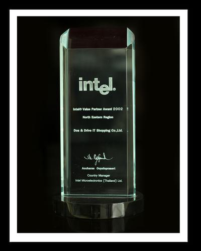 Intel Value Partner Award 2002