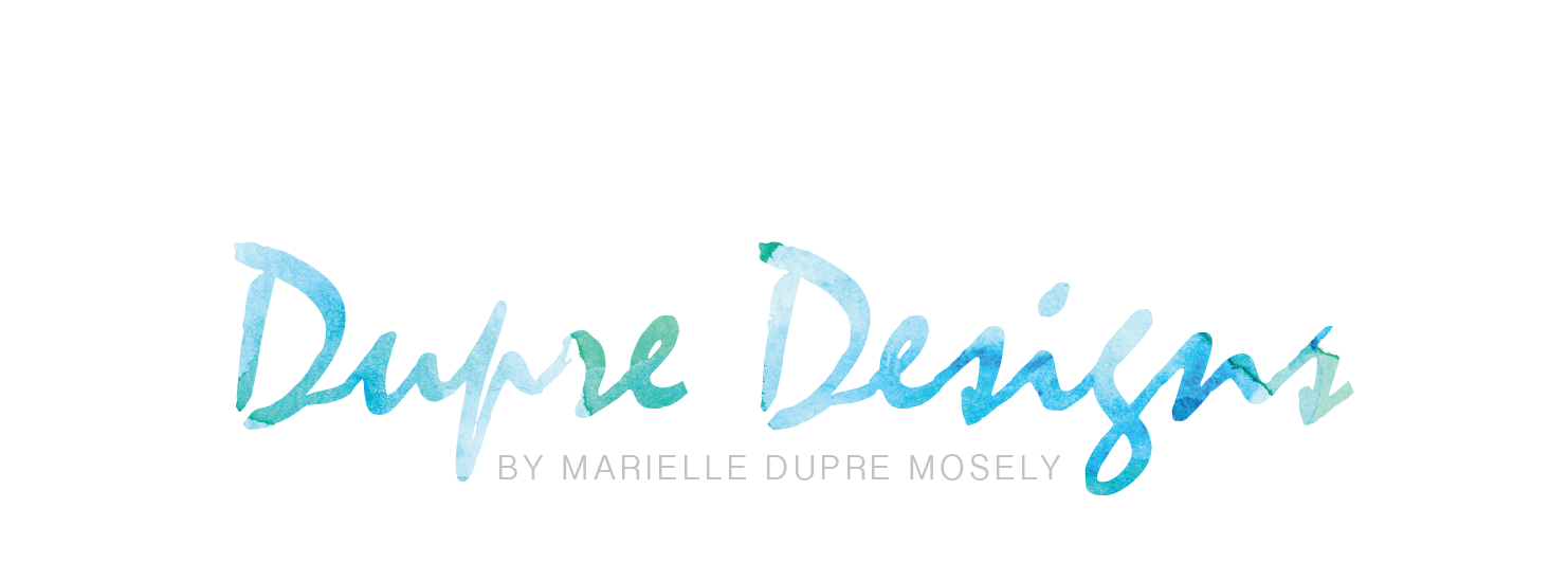 Dupre Design Logo for Marielle
