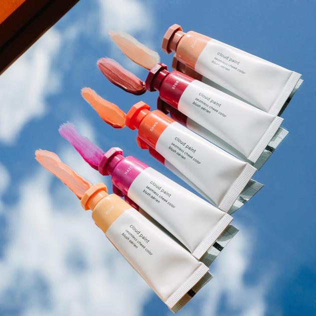 Glossier Cloud Paint Launch