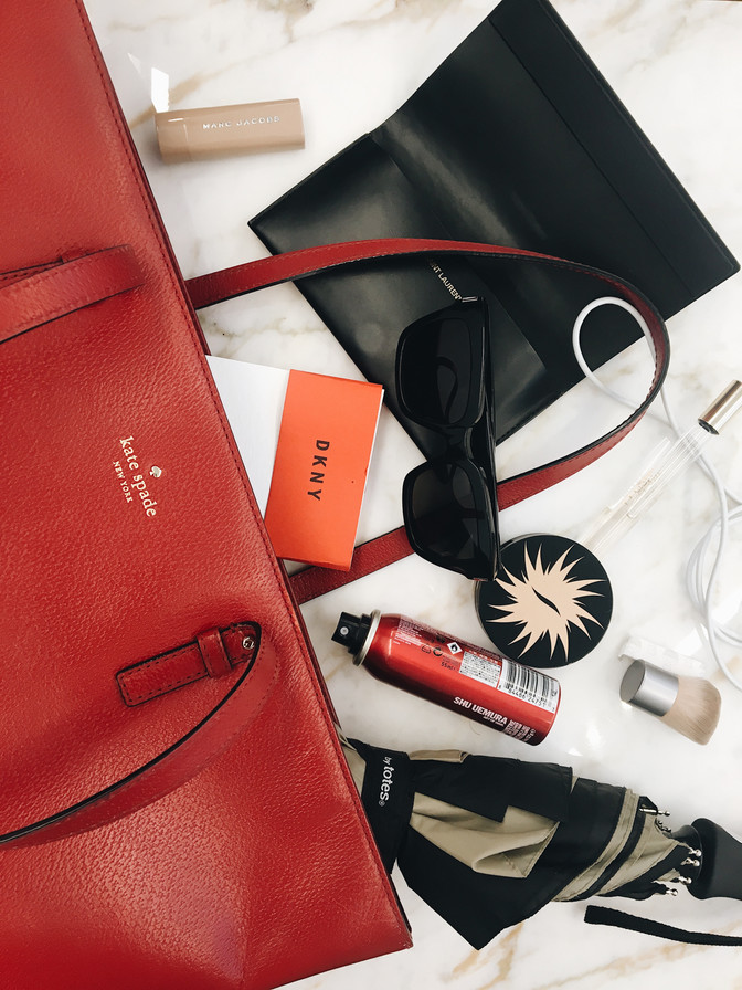 WHAT'S IN MY BAG: NYFW EDITION