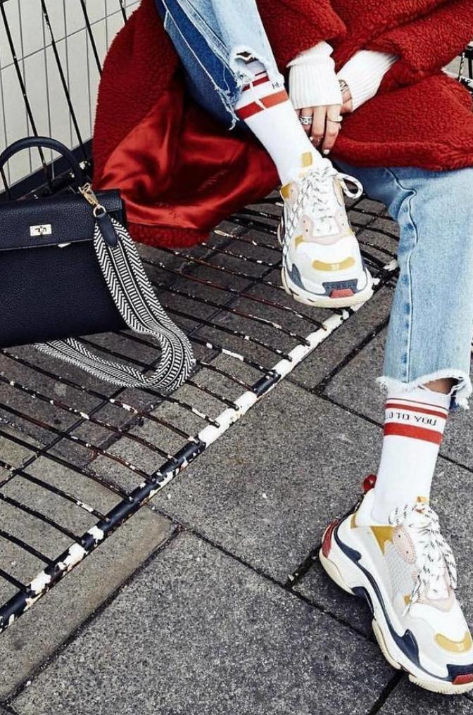 """""""Dad Sneaker"""" Trend"""