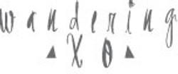 Wandering XO Clothing Label