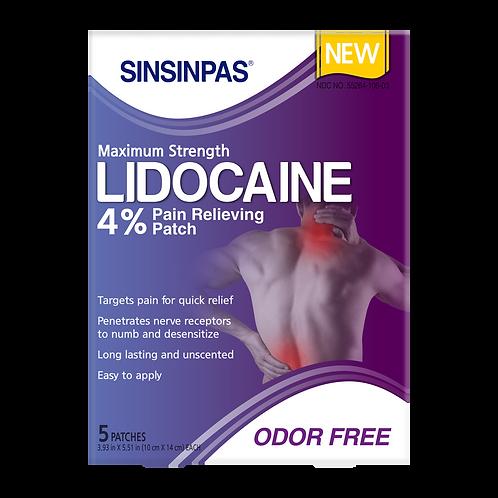 SINSINPAS® LIDOCAINE 4% (Sold Out)