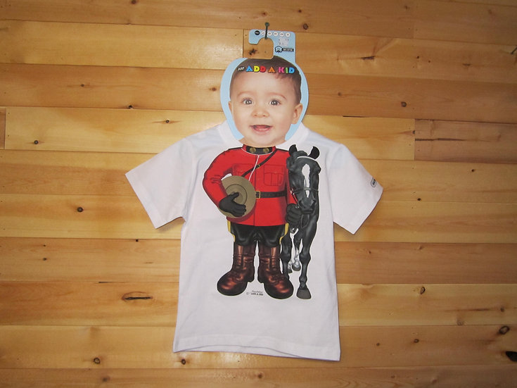 Toddler T-Shirt-Mountie with Horse