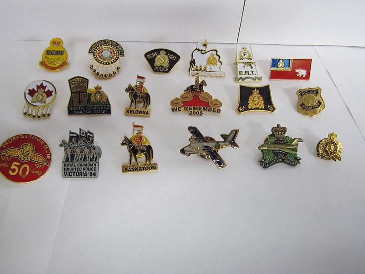 RCMP pins
