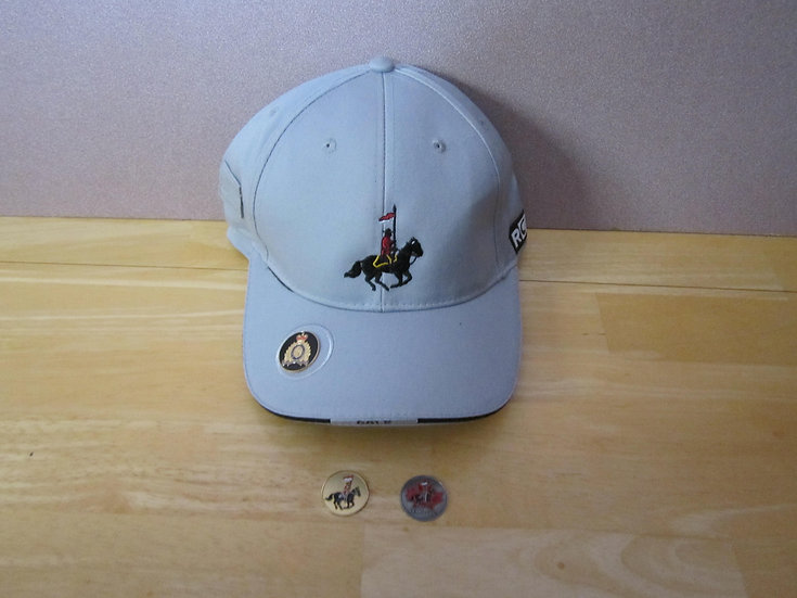 Golf Cap With Magnetic Ball Marker