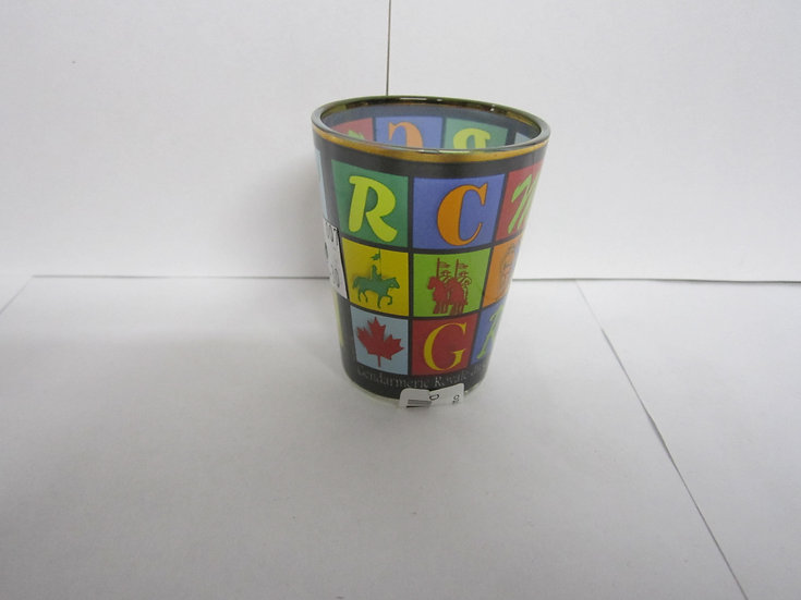 RCMP Shot Glass