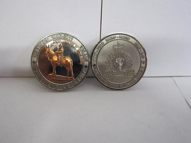 RCMP 125 year Medallion