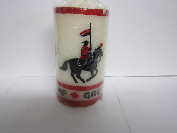 RCMP Candle