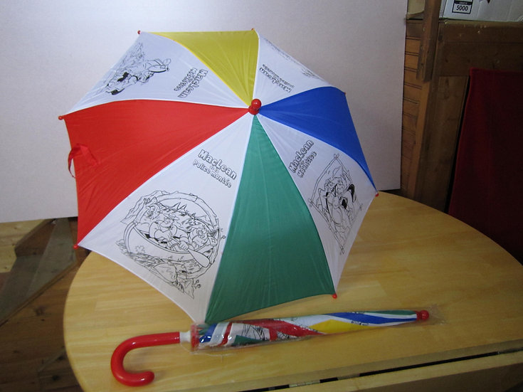 Colour Your Own Umbrella-MacLean of the Mounties